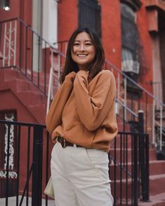 GIVEAWAY: Win something cozy from ethical & sustainable brand LNBF! Winter Fashion Outfits, Fall Fashion Trends, Fall Winter Outfits, Winter Wear, Autumn Winter Fashion, Sweater Skirt, Sweater Outfits, Slow Fashion, Ethical Fashion