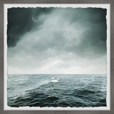 Sea Pictures, Rough Seas, Seascape Art, Stormy Sea, Big Canvas, Picture Frames, Drama, Ocean, Sky