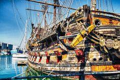 Genova, kalózhajó Sailing Ships, Fair Grounds, Boat, Travel, Dinghy, Viajes, Boats, Destinations, Traveling