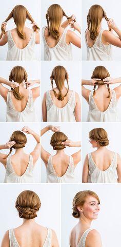 Красивые и простые прически на средние волосы - отличный вариант каждый день выглядеть стильно и красиво.