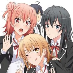 Safebooru is a anime and manga picture search engine, images are being updated hourly. Anime Art Girl, Manga Art, Manga Anime, Beautiful Anime Girl, I Love Anime, Yahari Ore No Seishun, Iroha, Anime Group, Anime Best Friends
