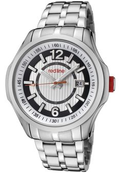 Price:$169.00 #watches Red Line 50004-22S, Showcasing a smart blend of contemporary and classical styles, this Red Line timepiece is a handsome addition to any man's wardrobe.