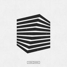 Billedresultat for minimalist berlin logos Design Graphique, Art Graphique, Op Art, Geometric Art, Geometric Designs, Tolle Logos, Logo Branding, Branding Design, Brand Identity