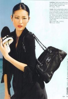"""Black Quilted """"Chain Around"""" medium camera case bag $2,525 - PurseForum"""