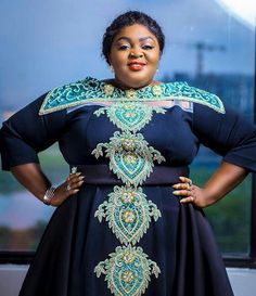 ACKCITY NEWS: Eniola Badmus' Outfit To The AMVCA Last Night