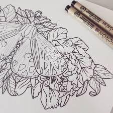 Resultado de imagem para moth sternum tattoo