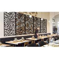 Matrix 1800 x 900 x 7mm Charcoal Jungle Décor Screen Panel