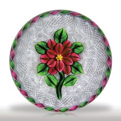 Bob Banford double clematis on upset muslin paperweight.(144) images