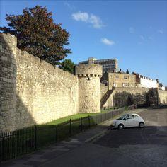 Http://www.westquaywatermark.com/The old walls. #theoldwalls #southampton #hampshire #niceviews #progress