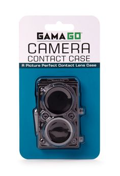 Why don't I own this.  Camera Contact Case | FOREVER21 #Accessories #Contacts #Camera