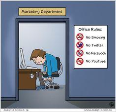 #Office rules & #SocialMedia