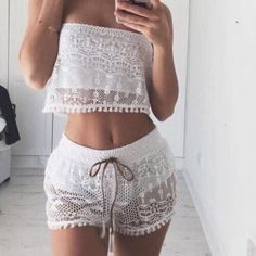 lace outfit
