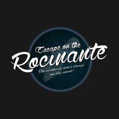 The Expanse - Rocinante - Teal Clean