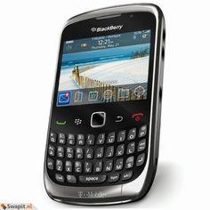 BlackBerry Curve 9300 3G ruilen voor mooie telefoon met oplader, koptelefoon of oordopjes WiFi, bluetooth, mp3, camera 5.0 megapixel