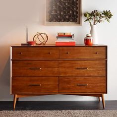 Description SKU NO. MESS-AC001 STYLE/TYPE Mid Century Modern Drawers Cabinet GENERAL DIMENSIONS L59.0'' x W17.7'' x H35.4'' MATERIALS Timber COLOR Walnut / Raw Wood WEIGHT (LBS) 110.2