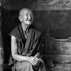 Tibetan monaca by dirutiglianon #nature #photooftheday #amazing #picoftheday