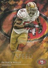 2014 Valor Football Speed #101 Patrick Willis - San Francisco 49ers