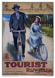 011-Carteles de bicicletas antiguas