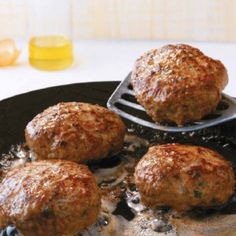 Traditional Greek meatballs with mint Ground Meat Recipes, Veg Recipes, Greek Recipes, Desert Recipes, Cooking Recipes, Recipies, Meatloaf Burgers, Greek Appetizers, The Kitchen Food Network