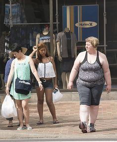 This is awesome! Do you do this? Do your kids do it? Too often people judge a strangers worth by their appearance. So sad.  I will add that this teen...well, I can't wait until she gets older, that metabolism slows, she possibly has kids, etc. and her body changes. Self worth does NOT involve appearance!