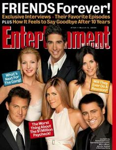 """Entertainment Weekly - """"friends"""" Exclusive"""