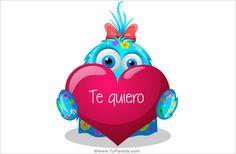 Ecard de te quiero. Tarjetas de amor, ver tarjetas postales virtuales - TuParada.com