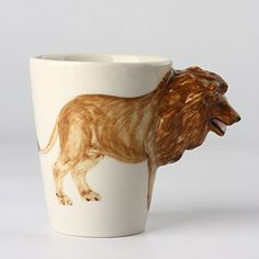 Homee Handmade Creative Art Mug Hand-painted Ceramic Cups (Lion) Homee http://www.amazon.com/dp/B018AWHEF8/ref=cm_sw_r_pi_dp_LDePwb12PBE0R