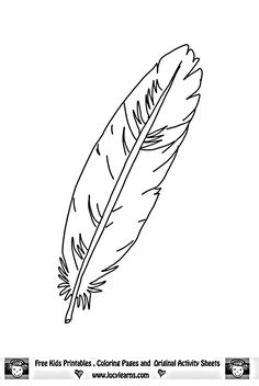 printable feathers coloring page for adults pdf instant
