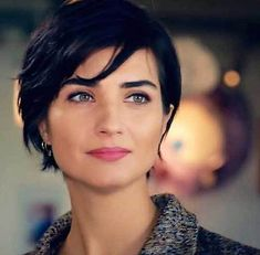 20 Really Cute Short Hairstyles You will Love: #10. Tuba Buyukustun Short Hair; #tubabuyukustun; #shorthair