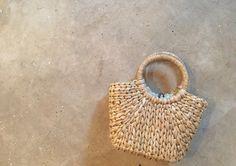 Vintage Straw Handbag by VintageAlene on Etsy