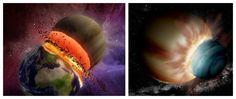 """水星变""""铁球""""之谜揭晓 源于地球或金星肇事一项最新的研究指出:太阳系内富含金属的天体,是早期太阳系发生巨大撞击而形成的产物!金星或是地球的撞击直接剥夺了水星的地幔,并因此导致了原水星变成了一颗""""铁球""""。    水星是太阳系最内侧的一颗小体积行星,但所拥有的铁量却是其他任何行星的两倍。这颗行星为何拥有富含铁的地核一直困扰着科"""