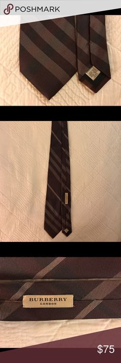Burberry London Plaid Silk Tie Beautiful silk tie. Worn a handful of times. Excellent condition. Little to no wear. Interested? Let me know/make an offer! Burberry Accessories Ties