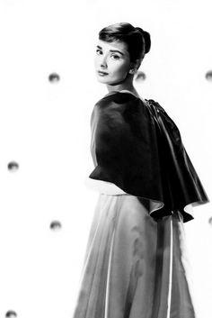 Audrey Hepburn ~ Publicity still for Stanley Donen's Funny Face, released in 1957