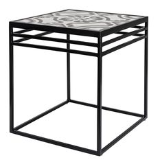 What good is a patio set if you have nowhere to place your drinks or books? The NMN Designs Lang Patio End Table is the finishing touch to your current. Table And Chairs, End Tables, Patio Design, Ceramics, Outdoor Decor, Furniture, Home Decor, Products, Decorating