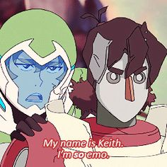 Pidge's Garbage Buddies - Keith - 2x01