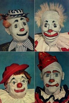 Don't care if they all have smiles. They;re still creepy