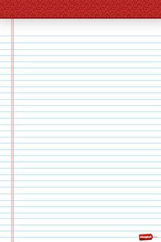 Free Note Paper Pad {iPhone wallpaper} Printable