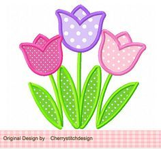 Original Machine Embroidery Designs-Digital Applique by CherryStitchDesign Applique Templates, Applique Embroidery Designs, Machine Embroidery Applique, Applique Quilts, Hand Embroidery, Free Applique Patterns, Christmas Embroidery, Flower Embroidery, Creeper Minecraft
