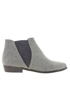 Enlarge River Island Wool Effect Chelsea Boots