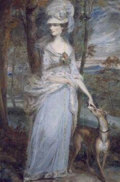 Portrait of Mrs. Paul Prickett by Daniel Gardner