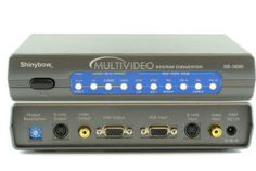 This video system converter converts any PAL, NTSC, SECAM or VGA System to any PAL, PAL-M, PAL-N, NTSC, or VGA System signal. This system is ideal for personal entertainment or business presentations. Audio connects directly from your source device to your destination device. For example, DVD player audio out to TV audio in. You can even watch a video on your VGA monitor or watch the computer screen on a TV monitor. - $210.00