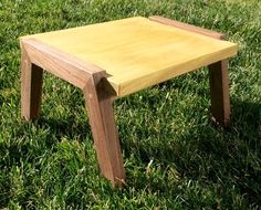 A personal favorite from my Etsy shop https://www.etsy.com/listing/263836421/exotic-wood-step-stool