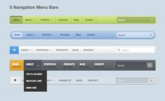 In this tutorial we will be creating a basic responsive navigation menu with dropdown using only HTML and CSS. Many navigation menus (especially responsive ones) are created using a combination of HTML, CSS and Javascript. This simple CSS only method Navigation Design, Web Design, Design Ideas, Website, Bars For Home, Web Development, Programming, Apps, Menu