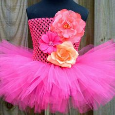 A fun and bright tutu for spring. Get yours today by clicking on the E!