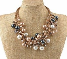 IPINK Fashion Charm Jewelry Pendant Faux Pearl Choker Chunky Statement bib Necklace and Earrings Set IPINK Fashion Charm Jewelry Pendant Faux Pearl Choker Chunky Statement bib Necklace and Earrings Set (Barcode EAN = 6947595903054). http://www.comparestoreprices.co.uk/december-2016-week-1/ipink-fashion-charm-jewelry-pendant-faux-pearl-choker-chunky-statement-bib-necklace-and-earrings-set.asp
