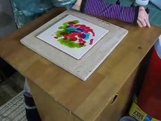 Alcohol Ink Tutorial: On Fire