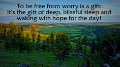 Why We Start Worrying and How To Be Free!