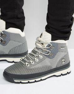 Image 1 ofTimberland Euro Hiker Jacquard Boots