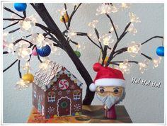 Dumbledora Funko Pop! having a Harry Christmas!