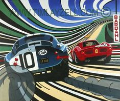 Automotive Art Originals